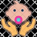 Baby Caring Baby Newborn Icon