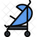 Baby Carriage School Icon
