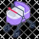 Stroller Baby Cart Pushchair Icon