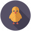 Baby Chick Chick Little Chiken Icon
