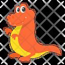 Baby Compsognathus Dino Icon