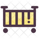 Cot Baby Child Icon