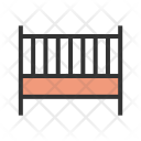 Baby Cot Furniture Icon
