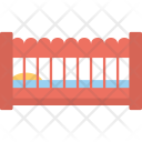 Baby Crib Bed Icon