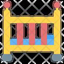 Baby Crib Crib Bed Icon