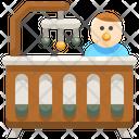 Baby Crib Baby Bed Crib Icon