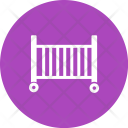 Baby Cot Crib Icon
