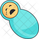 Baby Boy Swaddle Icon