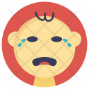 Baby Crying Tears Icon