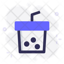 Cup Boba Drink Icon