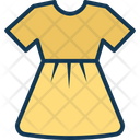 Baby doll dress Icon