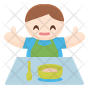 Baby Feeding Solids Icon
