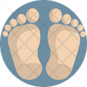Baby Feet Child Icon