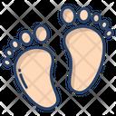 Baby Feet Feet Baby Leg Icon