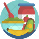 Baby Food Weaning Icon