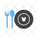 Baby Food Crockery Icon