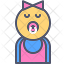 Baby Girl Baby Girl Icon