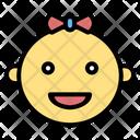 Baby Girl Girl Baby Icon
