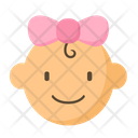 Baby Girl Icon