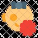 Baby Girl Virus Icon