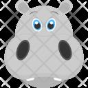Baby Hippo Icon