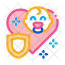 Baby Immunity Protection Icon