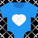 Baby jumpsuit Icon