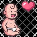 Little Child Baby Icon