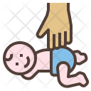 Baby massage Icon