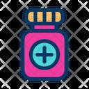 Baby Medicine Bottle Icon