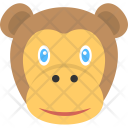 Baby Monkey Brown Icon