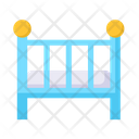 Baby Nest Bed Icon