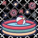 Baby Pool Kids Pool Inflatable Pool Icon