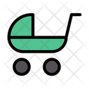 Pram Carriage Buggy Icon