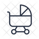 Pram Baby Trolley Icon
