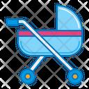 Baby Pram Baby Stroller Kid Icon