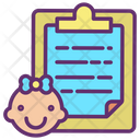 Baby Report Icon