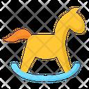 Baby Rocking Horse Icon