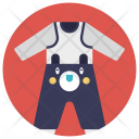 Baby Romper Clothes Icon