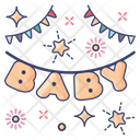 Baby Shower Party Ceremony Icon