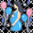 Baby Shower Maternity Celebration Decoration Icon