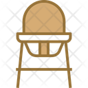 Baby Sitting Chair Icon