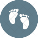 Baby Feet Steps Icon