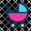 Baby Stroller Pram Icon