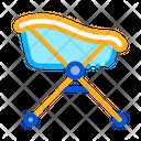 Bath Wheels Baby Icon
