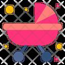 Baby Stroller Prams Pushchair Icon