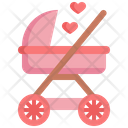 Baby Stroller Baby Carriage Carriage Wheel Icon
