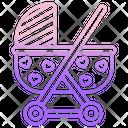Baby Stroller Stroller Pram Icon