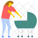 Baby Mother Babycare Icon