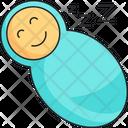 Baby Swaddle Icon